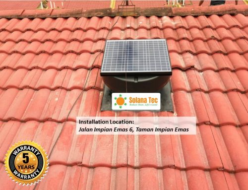 BEST 5 ROOF VENTILATION FAN IN JOHOR & SINGAPORE
