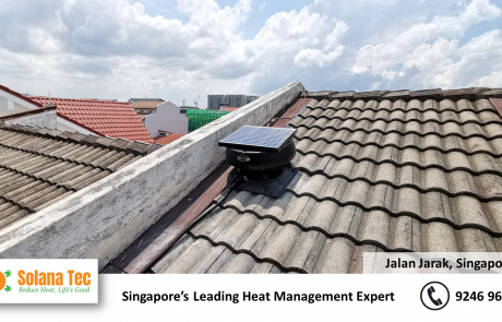 Solar Ventilator Solana Tec Fan Ventilator Roof Stair case ventilation circulation at Jalan Jarak with Electrical