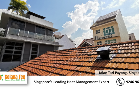 Roof Ventilation Improvement at Jalan Tari Payong Singapore SG Tile Roof