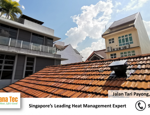 Solar Roof Ventilator Fan Installation in Singapore