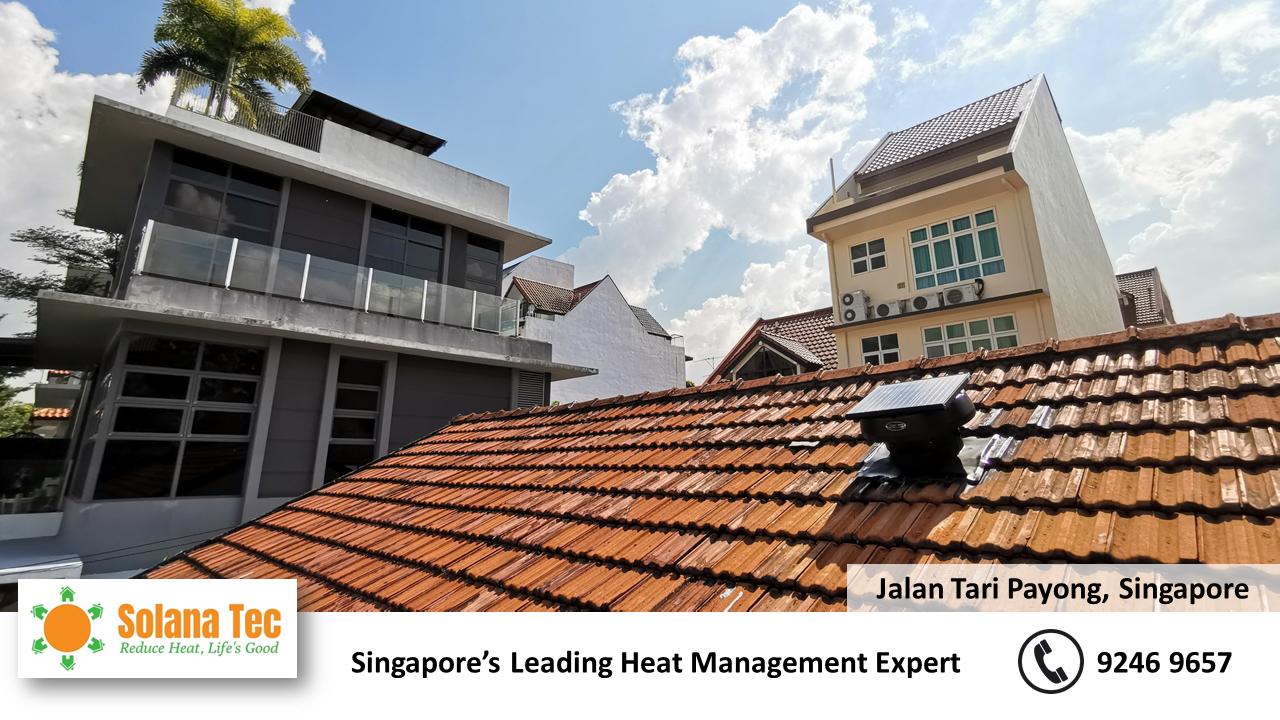 Roof Ventilation Improvement at Jalan Tari Payong Singapore SG Tile Roof